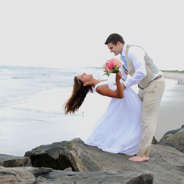 Matt & Viviane: Ocean City, NJ Beach Wedding