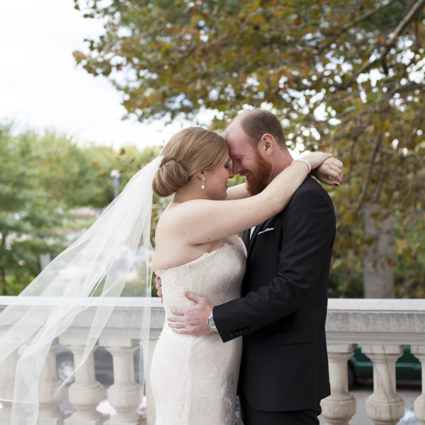 Lisa and Will: Daughters of the American Revolution Constitution Hall Wedding