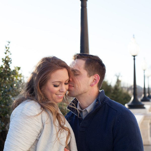 Paige and Chris' Maternity Session: Capitol Hill