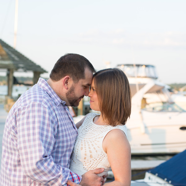 Kat & Ryan: Old Town Alexandria Engagement Session