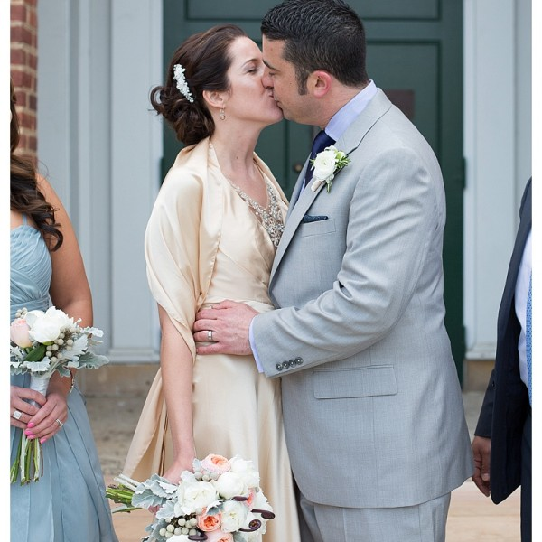 Desiree & Tom: Old Town Hall Fairfax Wedding