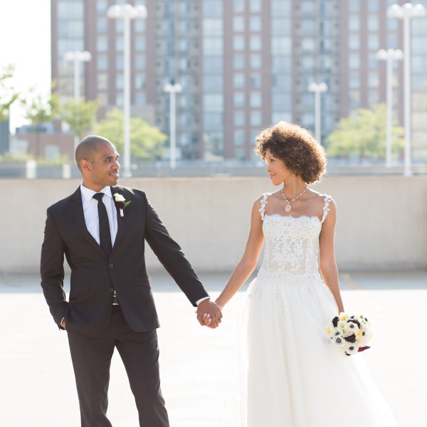 Ayo and Akeba: Reston Town Center Wedding