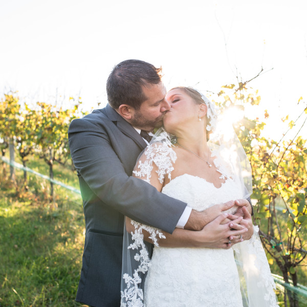 Kat and Ryan: Creek's Edge Winery Wedding
