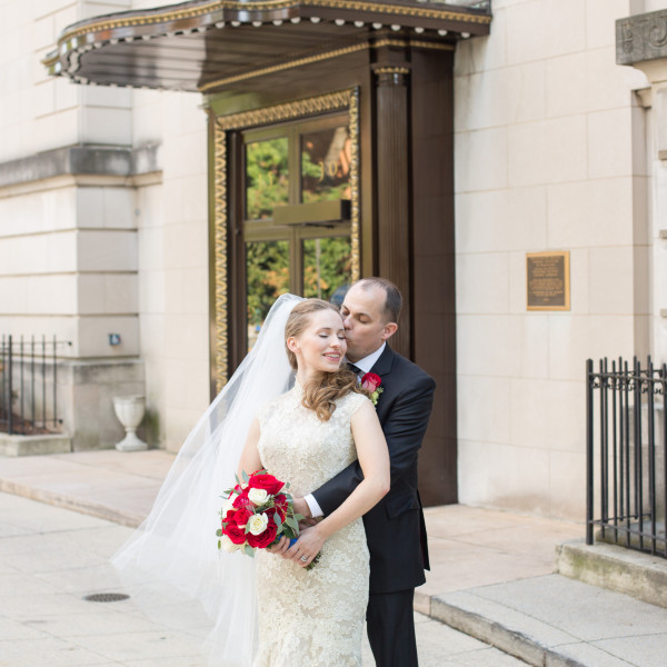 Markus and Anna | Carnegie Institution for Science Wedding