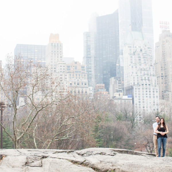 Alexa and Josh | Central Park Engagement Session | New York City Engagement