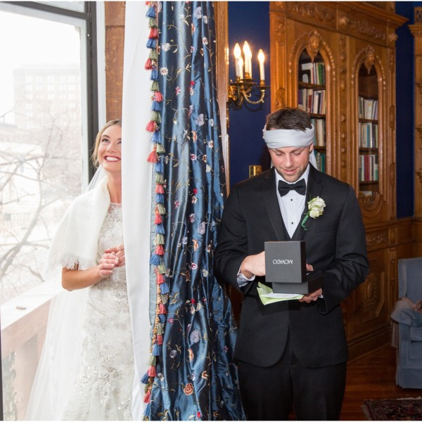 Brittany and Aaron | Engineer's Club Baltimore Wedding | D.C. Wedding Photographer