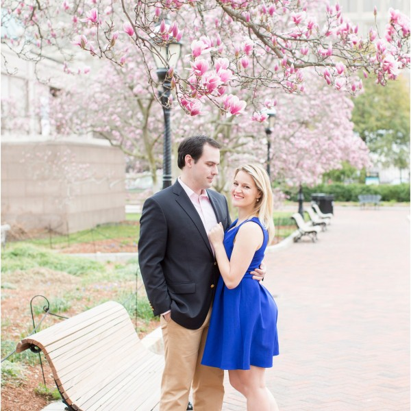 Julianne and Trey | Jefferson and National Gallery of Art Engagement Session | Washington D.C. Wedding Photographer