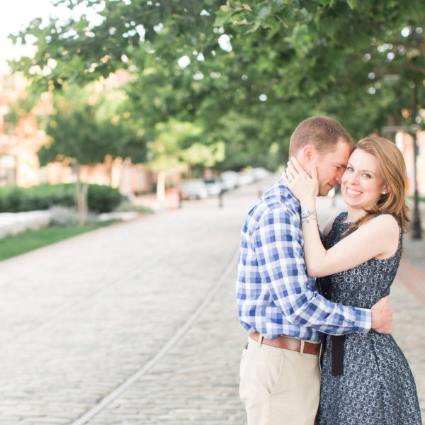Vanessa and Dave | Fell's Point Engagement Session | Washington D.C. Wedding Photographer