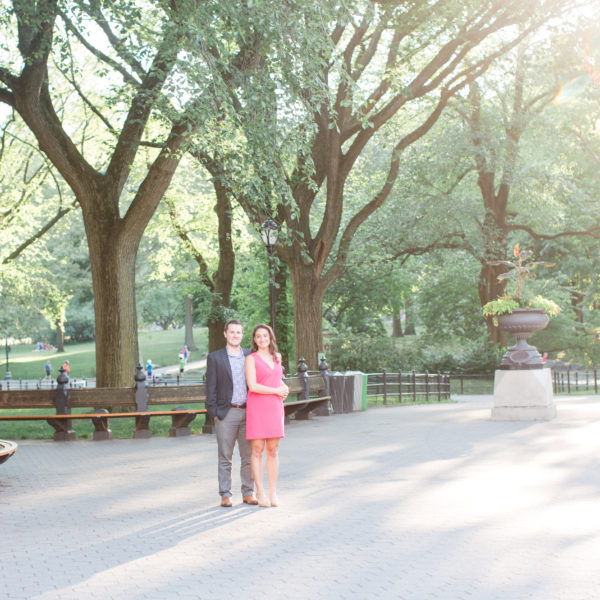 Vicki and Gary | Central Park Engagement Session NYC | Washington D.C. Wedding Photographer
