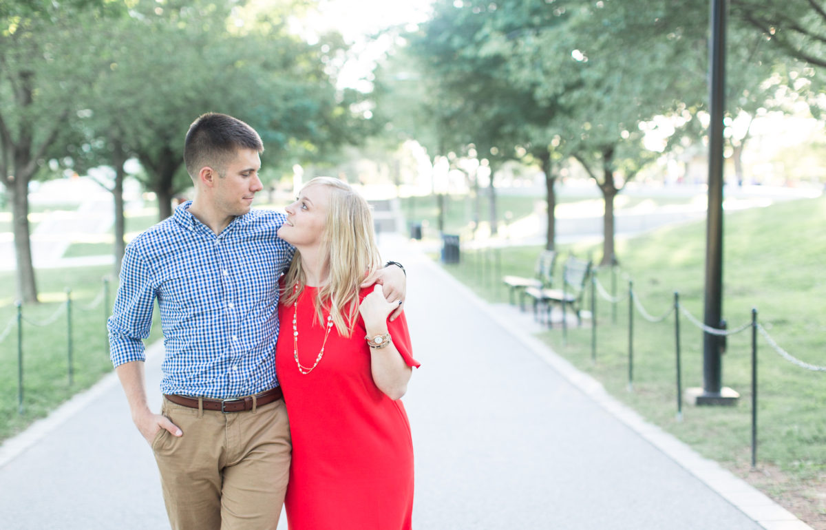 Molly + Danny | Lincoln Memorial Engagement Session | Washington D.C. Wedding Photographer