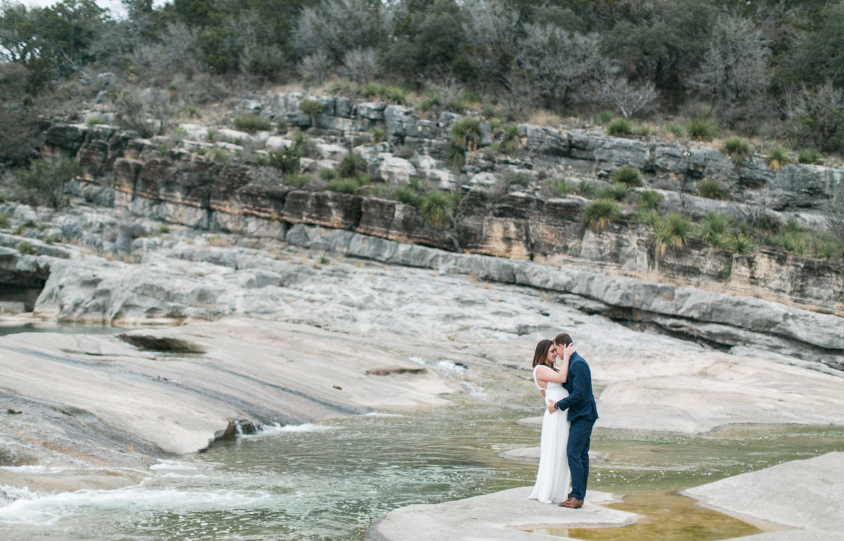 Kendall and Scott | Pedernales Falls Park Engagement Session | Austin Wedding Photographer